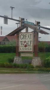 The Great Wolf Lodge Sign (Obviously.)